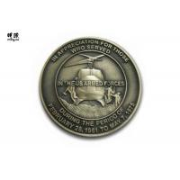 Quality Helicopter Shape Marine Corps Challenge Coins , Custom Commemorative British Coins wholesale