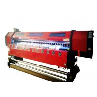 Quality Flex Banner Double Head Large Format Digital Printing Machine 126 Inch Wide Format wholesale