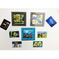 Quality Custom Shaped PP / PET Lenticular 3D Fridge Magnets With Lenticular Printing wholesale