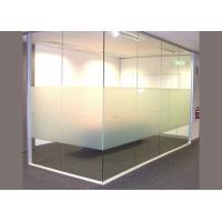 Quality High Grade Decorative Tempered Glass / Frosted Toughened Glass With Smooth Pattern wholesale