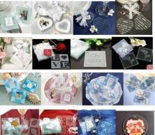 Quality wedding glass coaster gift wholesale