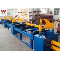Auto Combination Machine H Beam Welding Line With Assembly / Welding And