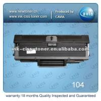 China Black toners and cartridges compatible with samsung mlt-d104 on sale