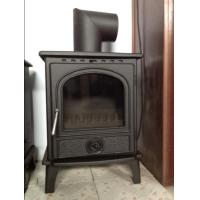 Quality 8KW matt black casting iron wood stoves wholesale