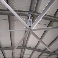 Quality HVLS Large Room Ceiling Fan / 11FT Warehouse Air Cooling Ceiling Fan wholesale