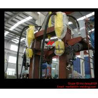 Quality T / I / H Beam Welding Line With Automatic Flux Recycling System Assembly and Straightening wholesale