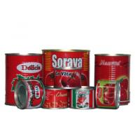 Quality Canned Raw Material Tomato Paste Tomato Paste 70G - 235KG B117 wholesale
