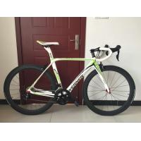 Quality High quality white full carbon fiber 540mm frame 700c racing bicycle/bicicle with Shimano 18 speed wholesale