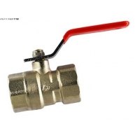 China SGS 1/2 Inch 2 Inch Gas Water Brass Ball Valve Female Thread on sale