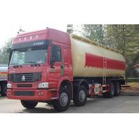 Quality Bulk Cement Tank Truck / Dry Bulk Trucking Transportation Vehicle 371HP 12 Wheels wholesale