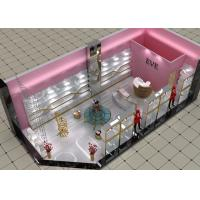 Cheap Lovely Style Retail Shoe Store Display Fixtures Decorated With LED Strip Lights for sale