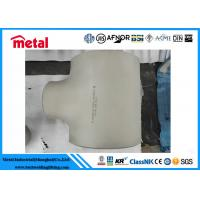 China Stainless Alloy C Pipe Fittings Seamless Stainless Steel Equal Tee on sale