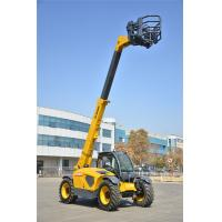 China Durable Telescopic Telehandler Forklift / Xcmg Extended Boom Forklift Deutz Engine on sale