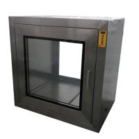 China Electric Inter Locker Cleanroom Pass Through Box For Controlled Environment on sale