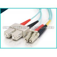 Quality Bend Insensitive Multimode Fiber Optic Patch Cables LC - SC 2.0mm for Telecommunication wholesale