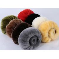 Quality Warm Comfortable Sheepskin Steering Wheel Cover 3 Spoke Anti Slip For Safety Driving wholesale