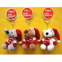 Christmas Teddy Bear keychain Plush Toys