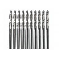 Quality 3.175mm Shank 2 Flute 32mm Solid Carbide Ball Nose End Mills CNC Cutting Tool wholesale