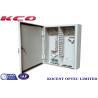 Buy cheap KCO-ODB-72A 72core 96cores Outdoor Wall-mountable Metallic Optical Terminal Fiber Distribution Box from wholesalers