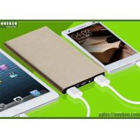 Quality Ultrathin Portable Fast Charging Power Bank 6000mah With Lithium - Ion Polymer Battery wholesale