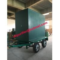 Quality Four Wheels trailer vacuum transformer oil cleaner, insulation oil filtration machine wholesale