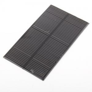 China Custom Made 6V 1.5W Mini Solar Panels With Poly Crystalline Solar Cell on sale
