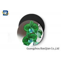Quality Stunning Flower Personalised Round Coasters , Print Your Own Coasters 3D Lenticular Picture wholesale