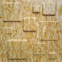 Quality Fire Retardant 3D Textured Wall Panels / 3D Marble Stone Wall Textures wholesale