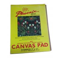 Quality 10 Sheets Drawing Sketch Pad Artist Canvas , Acrylic Primed Any Medium Canvas Pad For Drawing wholesale