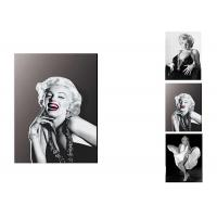 Quality Star Marilyn Monroe 3D Lenticular Flip With 3 Imges Changing Effect / MDF Frame wholesale