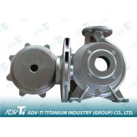 Quality Silver Nickel based alloy Titanium Investment Casting Pump Body wholesale