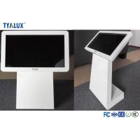 Quality Wifi / 3G LCD Advertising Player , Touch Screen freestanding digital signage Kiosk wholesale
