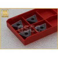 Quality Hardness Carbide Lathe Inserts , Triangle Carbide Inserts For Aluminum wholesale
