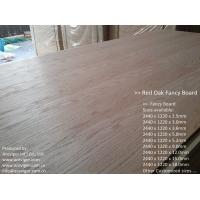 Quality Red Oak Fancy Plywood 1220 x 2440mm wholesale