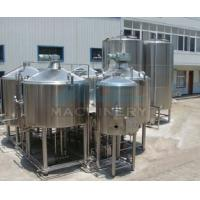 Cheap beer brewing equipment/dimple plate jacketed beer fermenter, bright beer tank 100-3000L for sale