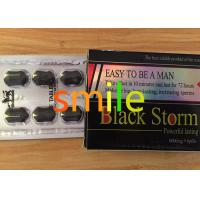 Quality Powerful Male Libido Enhancer Black Storm Anti ED Herbal Male Enhancement Products wholesale