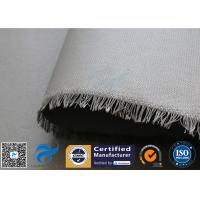 China 0.45mm PU Coated Fiberglass Fabric Cloth For Welding Spatter Sparks Protection on sale