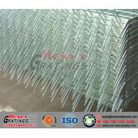 China Hot Dipped Galvanized Steel Grating Fence on sale