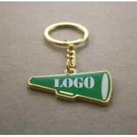 Quality speaker-shape zinc alloy key chain wholesale