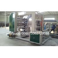 Cheap PE / PP Rolling Paper Flexo Printing Machine By Auto Tension Control for sale