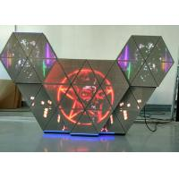 Quality P5 Full Color Music LED Dj Booth Facade With Wide View Angle For TV Studios / Bars wholesale