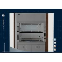 Quality Biological Science Laboratory Ductless Fume Hood Iron Metal Type Corrosive Resistant wholesale