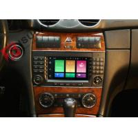 Cheap Multi Touch Screen Mercedes C Class Dvd Player , Mercedes Benz Head Unit 4G for sale
