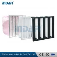 China Leak Proof Industrial HEPA Filter , High Performance Air Filter For Heating System on sale
