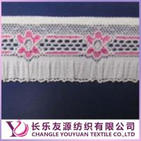China High quality lace fabric for clothing, elastic lace fabric on sale