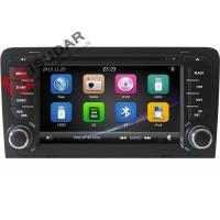 Cheap Capacitive Screen Audi Car Dvd Player , Double Din Car Media Player With DVD for sale