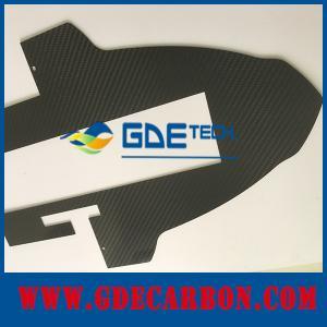 China Custom carbon fiber cnc cutting carbon fiber board on sale