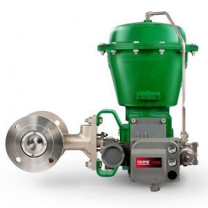 China Durable Pressure Temperature Transmitter Fisher CV500 Eccentric Plug Valve Cavitation on sale