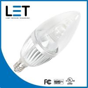 Quality Dimmable candelabra base led light bulbs 2w e12 candelabra led candelbulb wholesale