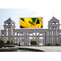 China Video Single Sided Outdoor Full Color LED Display Screen 4m Min Viewing Distance on sale